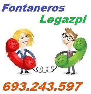 Telefono de la empresa fontaneros Legazpi