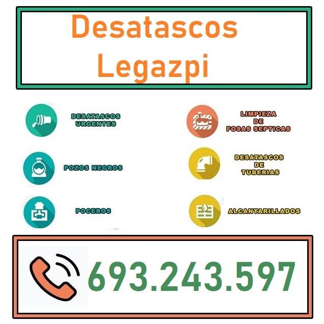 Desatascos Legazpi